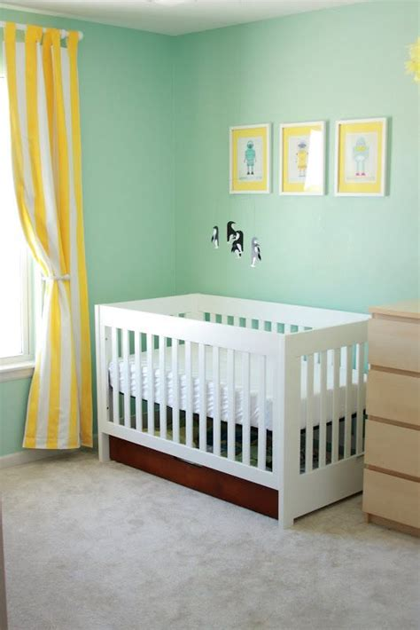 paint color benjamin robin s nest with yellow accents very nursery emilia