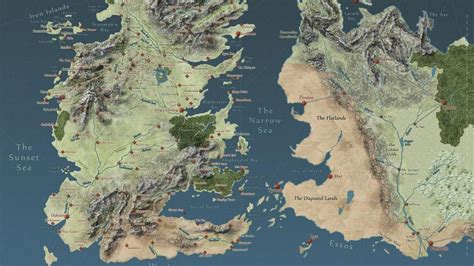 game  thrones map wallpapers top  game  thrones