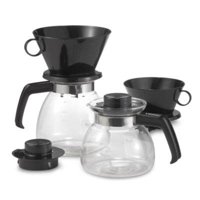 Tips and information for melitta. Melitta® Pour Over Coffee Makers with Glass Carafe   Bed Bath & Beyond