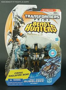 Transformers Prime Beast Hunters Night Shadow Bumblebee ...