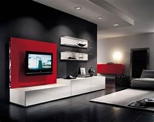 Meuble Tv Mur : le meuble tv design et style pour l 39 int rieur ~ Teatrodelosmanantiales.com Idées de Décoration