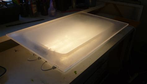 light table for tracing how to make your own lightbox for tracing on watercolor paper