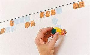 Rolle Zum Streichen : wandgestaltung mit mosaiktechnik maltechniken ~ Jslefanu.com Haus und Dekorationen