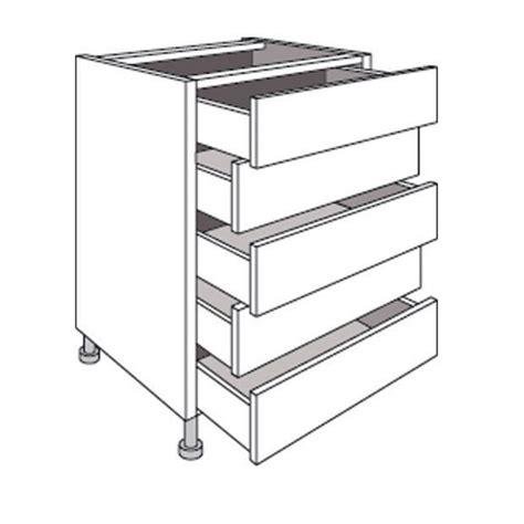 meuble cuisine tiroir meuble de cuisine bas avec 5 tiroirs twist cuisine