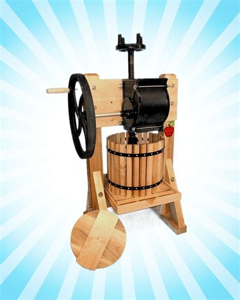 Homesteader Single Tub Cider & Wine Press   Apple Cider