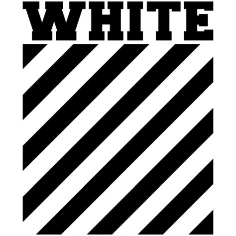 quot off white logo stripes quot canvas prints by picture of nature redbubble