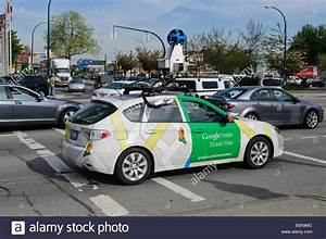 Google Street View Car : a google street view mapping vehicle in car traffic vancouver b c stock photo 74337100 alamy ~ Medecine-chirurgie-esthetiques.com Avis de Voitures