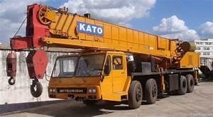 Used Kato 50t Crane Nk500e Iii Truck Crane 50t 50 Ton