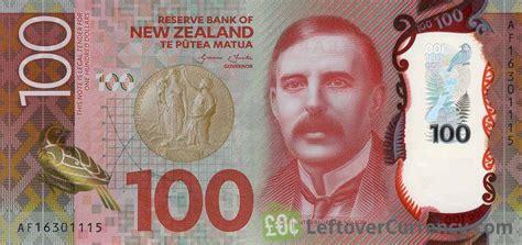 money exchange nz 100 new zealand dollars banknote 2015 exchange yours for