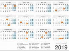 Kalender 2019 mit feiertagen 2019 printable collection