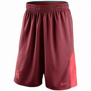 Nike Mens Oklahoma Sooners Drifit Shorts in Red for Men (Crimson) | Lyst