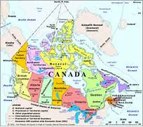 physical map of us and canada  Usa physical map rich  Canada Physical Map
