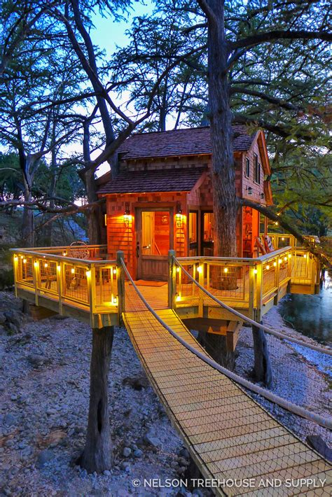 Frio River Texas Treehouse — Nelson Treehouse