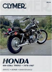Clymer Service Repair Manual Honda 400
