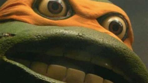 michelangelo open mouthed stare reaction   meme