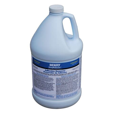 flooring adhesive remover henry easy release 1 gal adhesive remover 12250 the home depot