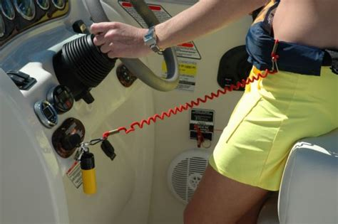 Boat Safety Lanyard Switch by Better Boater Kill Switch Pontoon Deck Boat Magazine