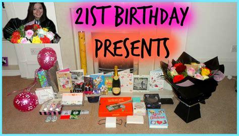 christmas 21st birthday presents saraahweshy youtube