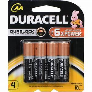 Batterie 1 5v Aa : duracell duracell 1 5v aa coppertop alkaline batteries mn15004 ~ Markanthonyermac.com Haus und Dekorationen