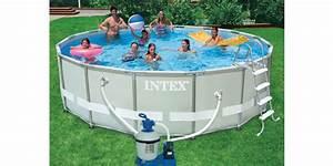 Piscine Tubulaire Oogarden : piscine ultra frame 4 88 x 1 22 m hors sol ronde intex ~ Premium-room.com Idées de Décoration