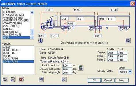 long combination vehicle lcv program conditions