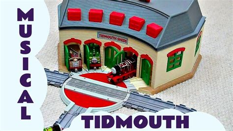 tidmouth sheds take n play take along the musical tidmouth sheds