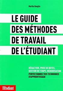 Livre   Guide Des M U00e9thodes De Travail De L U2019 U00e9tudiant