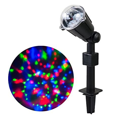 wed rotating kaleidoscope led projector lights waterproof