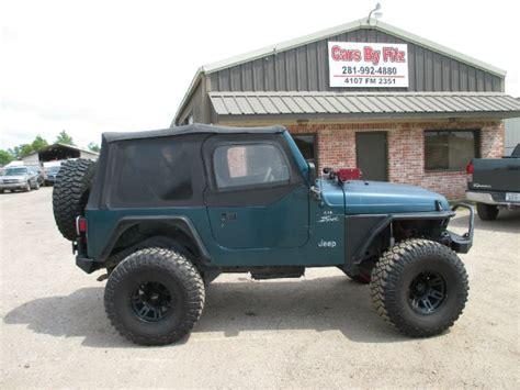 jeep wrangler  sale houston tx cargurus