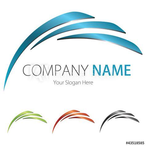 company business logo design vector blueblackgreen