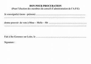 Documents Pour Compromis De Vente : modele une procuration document online ~ Gottalentnigeria.com Avis de Voitures
