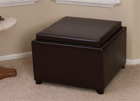 21187 Jefferson Lines Coupon Code by Leather Storage Ottomans