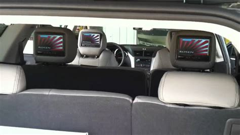 chevy traverse custom leather video youtube