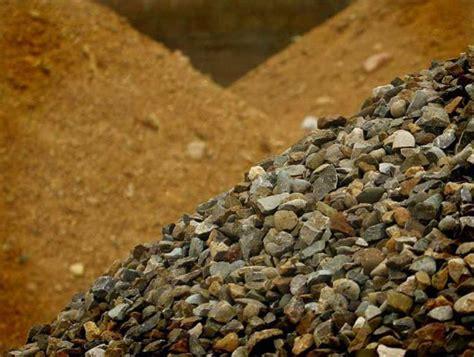 il materiale sfuso sabbia ghiaia produzione e vendita