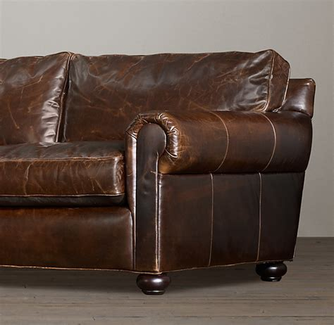 Restoration Hardware Sleeper Sofa Review by 96 Quot Original Lancaster Leather Sleeper Sofa
