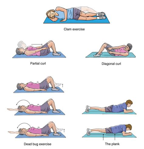 pelvic floor exercises the steps towards a flatter tummy after