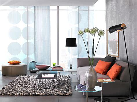 dekorieren fensterdekoration fuers wohnzimmer schoener