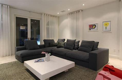 rideaux modernes pour cuisine beaux rideaux pour le salon deco maison moderne