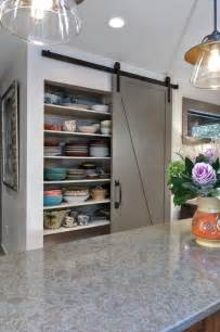 interior barn door ideas kitchen transitional with barn