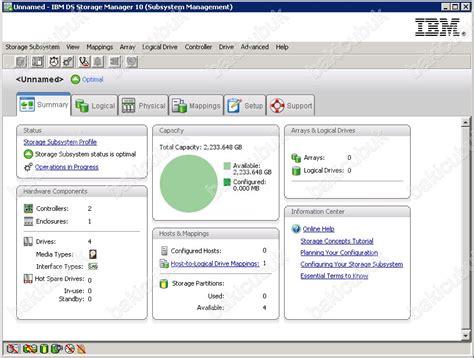 ibm system storage ds storage manager baki cubuk