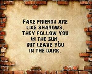Funny Quotes About Fake Friends. QuotesGram
