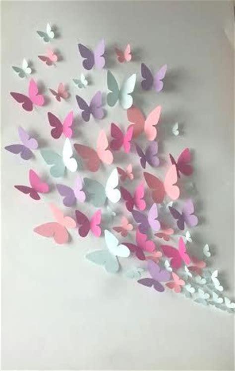 deco chambre fille papillon les 25 meilleures idées concernant papillons en papier sur
