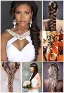 coiffure tresse mariage coiffures pour un mariage de printemps