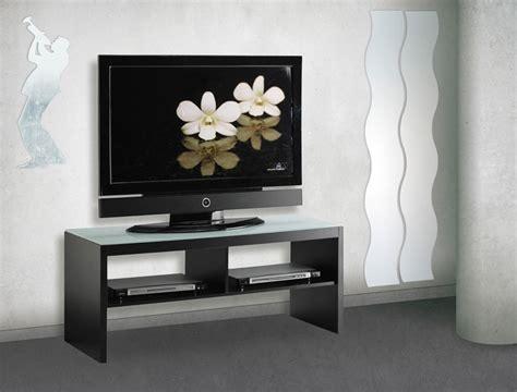 Meuble Tv Noir En Verre Conforama (photo 910)  Meuble Tv
