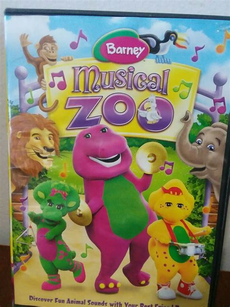 A compilation of various videos of the same barney's elephant song. Childrens DVD Barney: Musical Zoo Riffis Musical Zoo Special Skills Rhythms | Barney & friends ...
