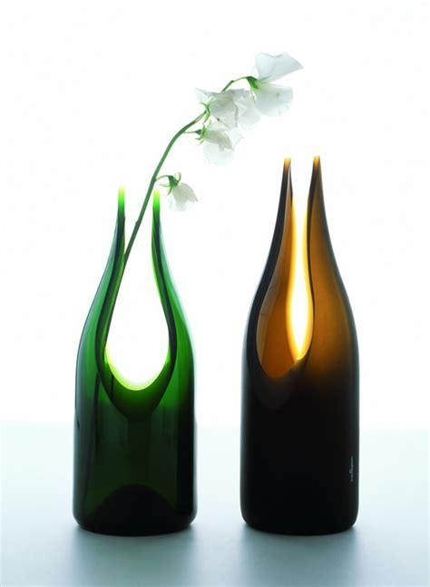 Modern Vase   Transglass Cut Vase