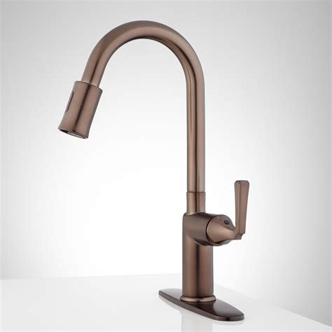 touchless faucet kitchen mullinax single touchless kitchen faucet with deck