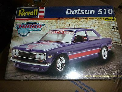 Datsun 510 Kit by Revell Datsun 510 1 25 Model Car Mountain Kit Fs Cad 45