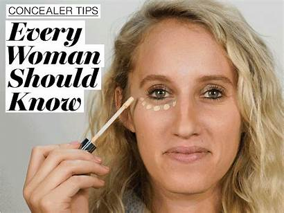 Concealer Apply Glamour Tips Way Concealers Correctly
