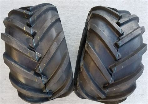26x12.00-12 Deestone 8p Super Lug Tires Pair Ag Ds5324